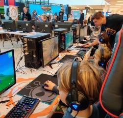 BørneKulturFestival. Langelandsmesterskaberne i Esport 2020
