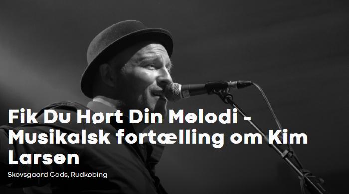 Musikalsk Fortælling om Kim Larsen + Cafemenu