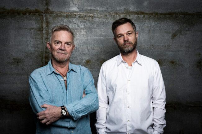 Portræt af Jesper Bugge Kold og Mich Vraa