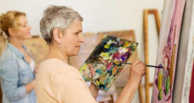 Portrætkursus tegning/akvarel med Solveig Moa